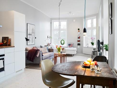 Małe Jest Piękne Czyli Salon Sypialnia Kuchnia I Biuro W