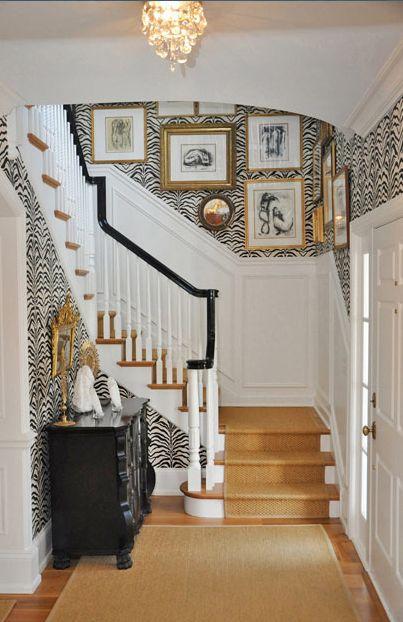 Formal Foyer Wallpaper : Staircases czyli piękne wnętrza i klatki schodowe na