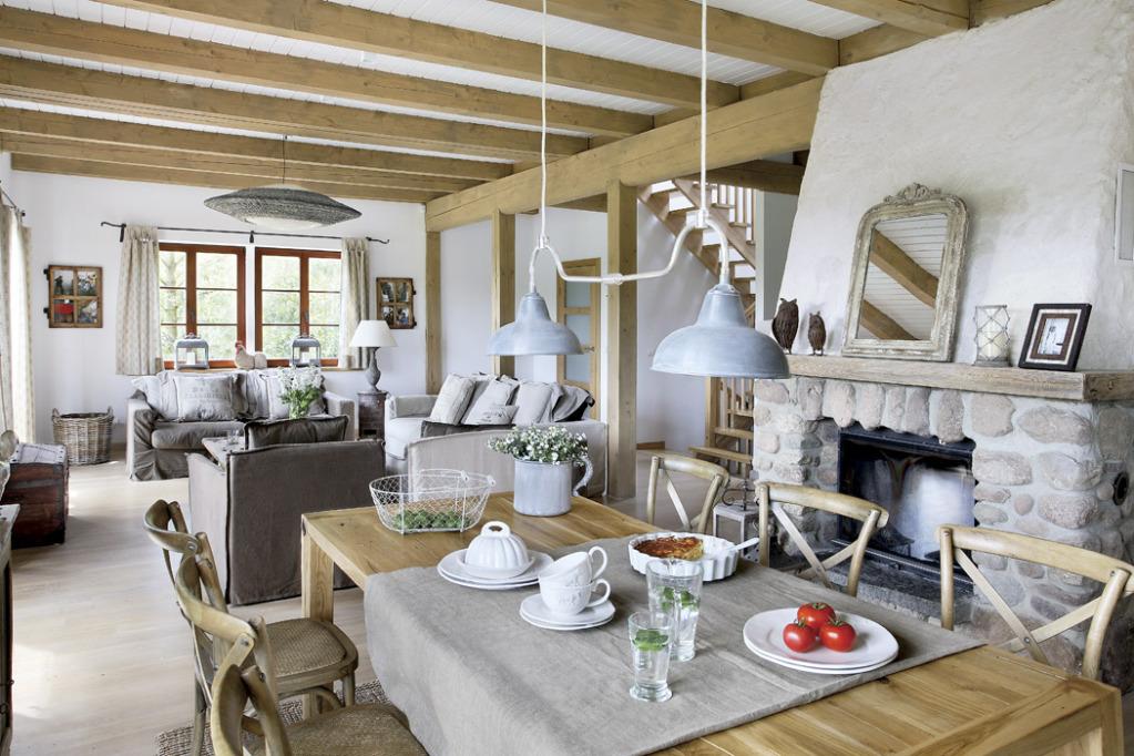 white interior design sielski dom na wsi czyli wspomnienie dzieci stwa. Black Bedroom Furniture Sets. Home Design Ideas